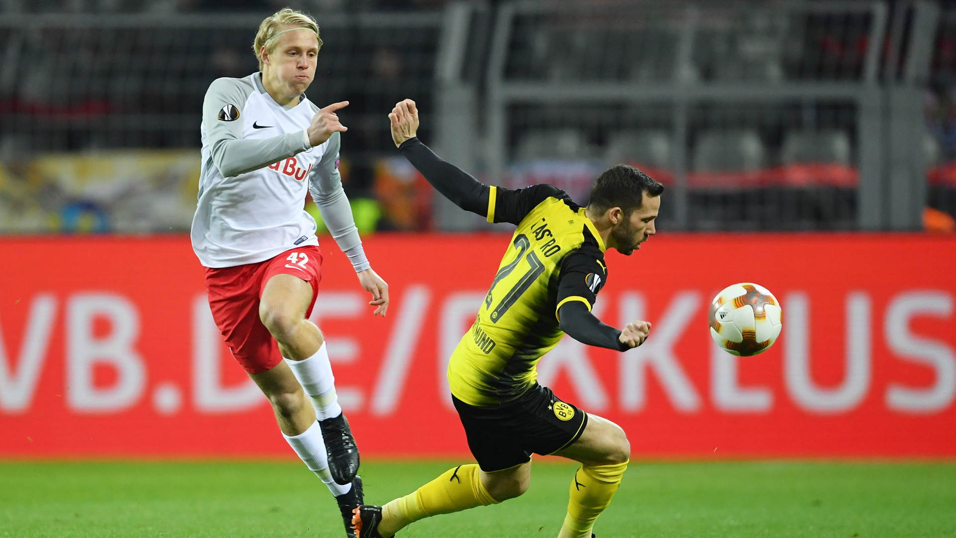 Borussia Dortmund FC Salzburg Gonzalo Castro Xaver Schlager 08032018