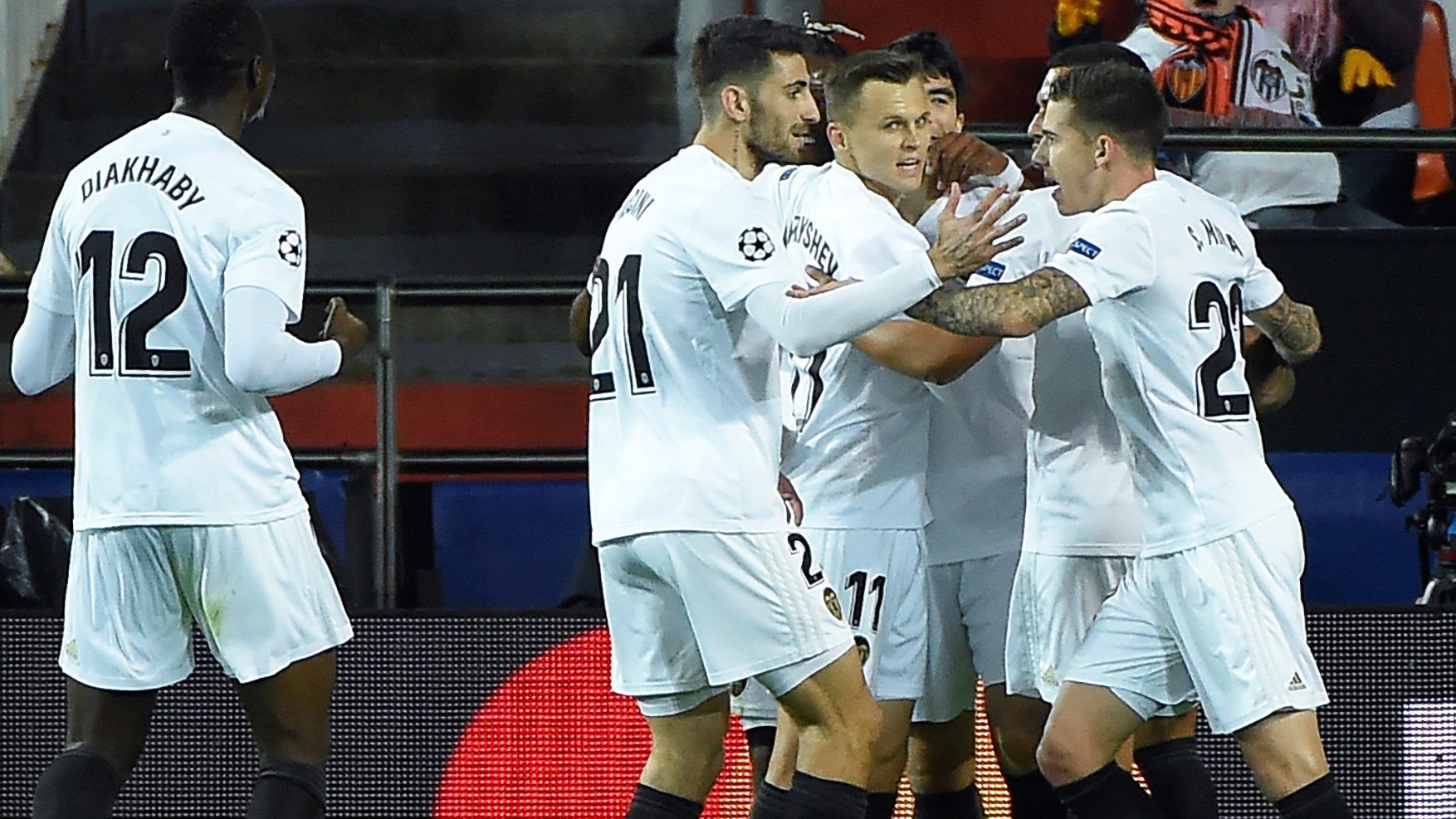 Valencia Manchester United UCL 12122018