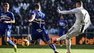 Cristiano Ronaldo Juventus Sampdoria Serie A