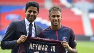 Nasser Al-Khelaifi Neymar PSG