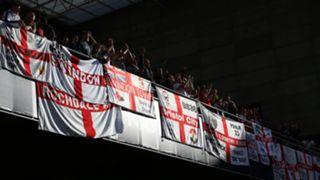 England fans at UEFA Nations League finals