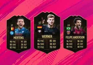 EA Sports hat das FIFA Ultimate Team of the Week 8 veröffentlicht. Mit dabei sind dieses Mal Dries Mertens, Timo Werner und Felipe Anderson.