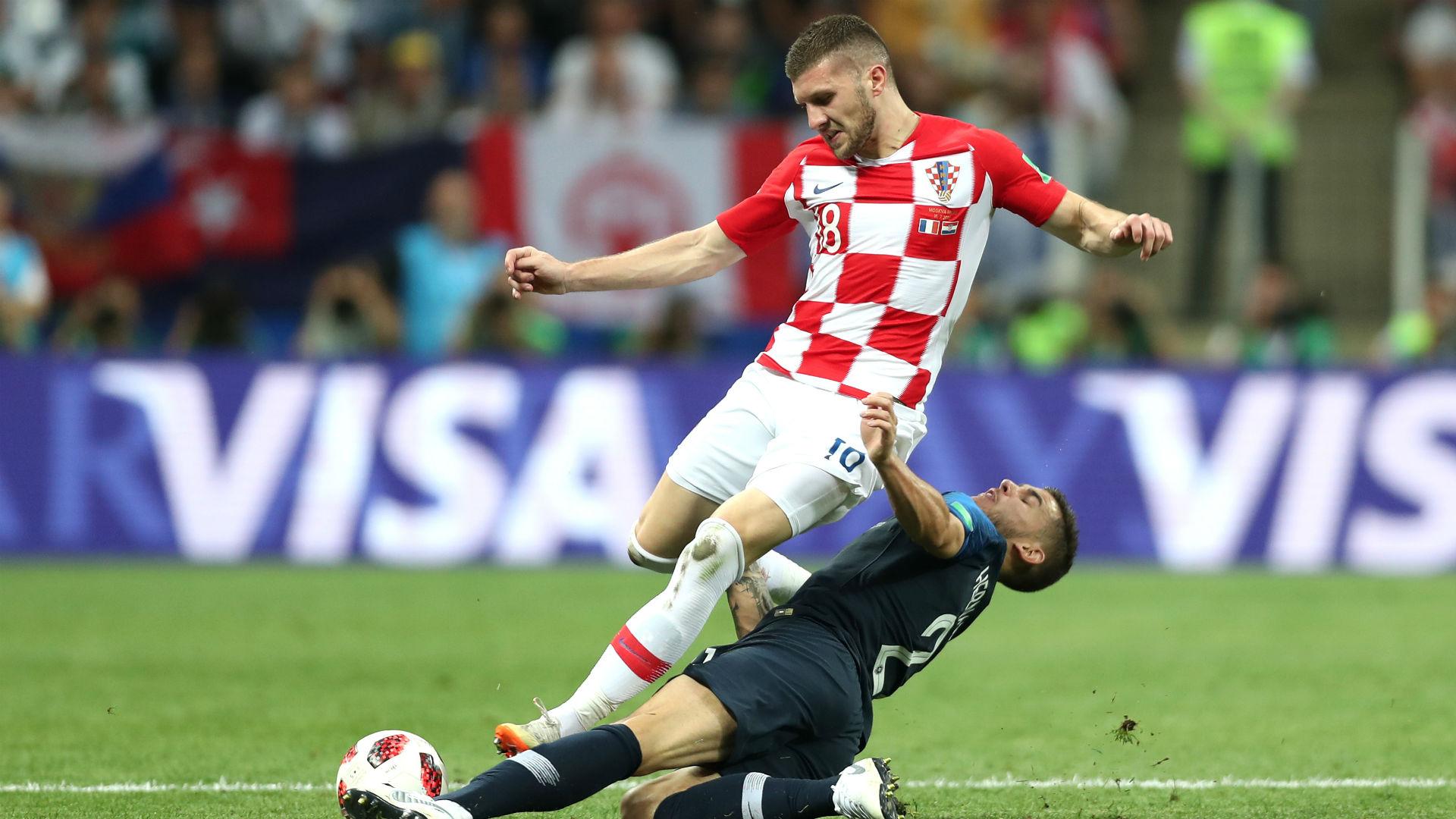 france croatia - ante rebic lucas hernandez - world cup final - 15072018