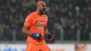Pepe Reina Juventus Napoli Coppa Italia