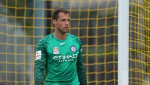 Thomas Sorensen Central Coast Mariners v Melbourne City A-League 05032017