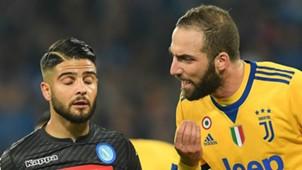 Insigne Higuain Napoli Juventus