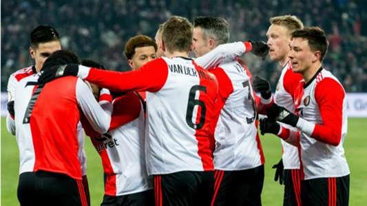 Feyenoord - Willem II, KNVB Beker 02282018