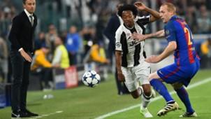 Juan Cuadrado Jeremy Mathieu Juventus Barcelona