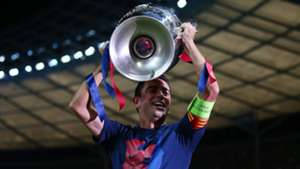 Xavi Hernandez FC Barcelona Champions League