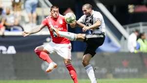 280718 Giorgio Chiellini Nicolás Castillo Benfica Juventus