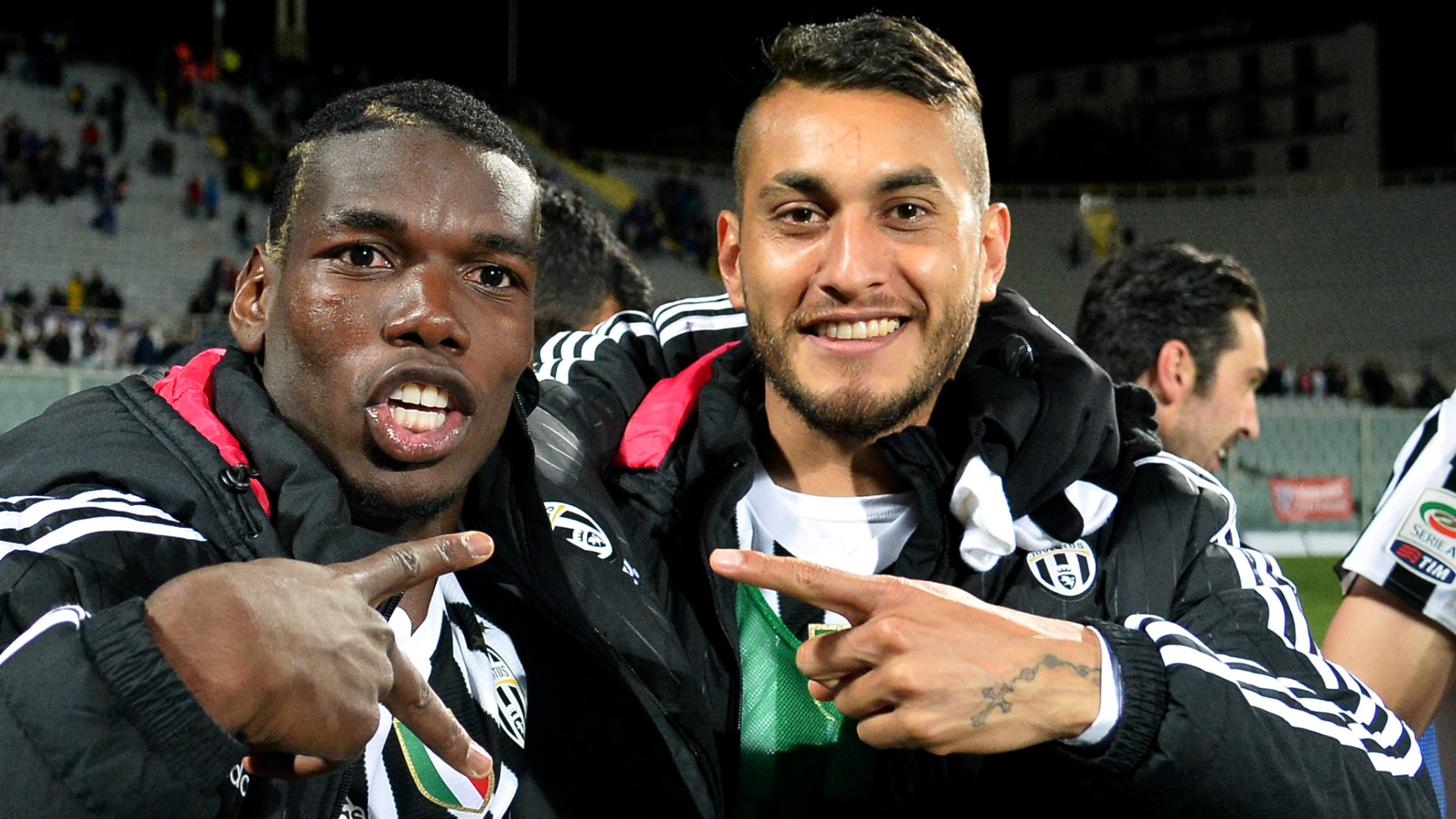 Paul Pogba and Roberto Pereyra, Juventus, 2015
