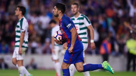 Luis Suarez Barcelona Eibar La Liga 21052017