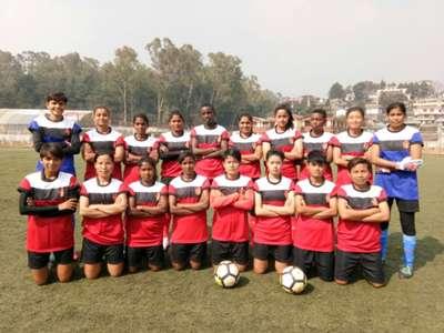 Gokulam Kerala women's team IWL