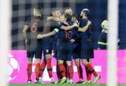 croatia spain - uefa nations league - celebration - 15112018