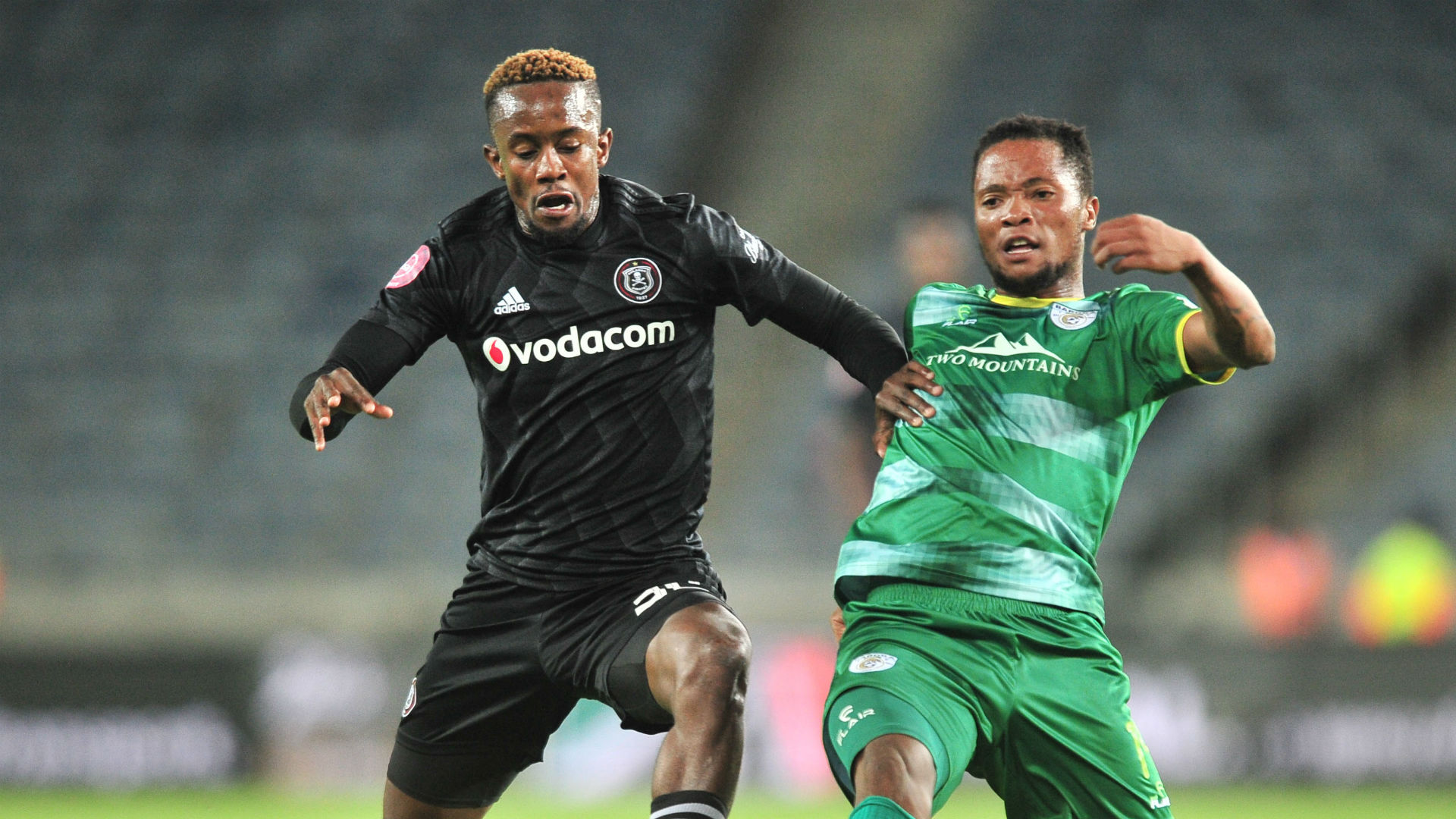 Linda Mntambo, Orlando Pirates & Goodman Mosele, Baroka FC, January 2019