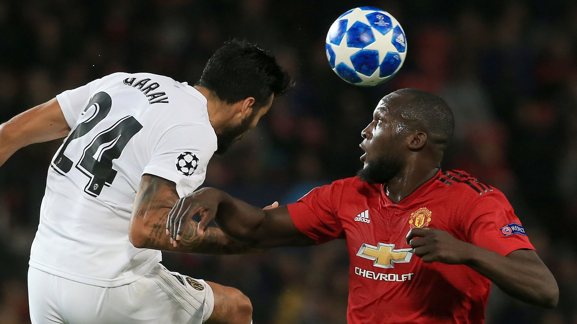 Garay, Lukaku, Man Utd vs Valencia