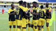Tusker celebrate win.