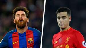 Lionel Messi Philippe Coutinho