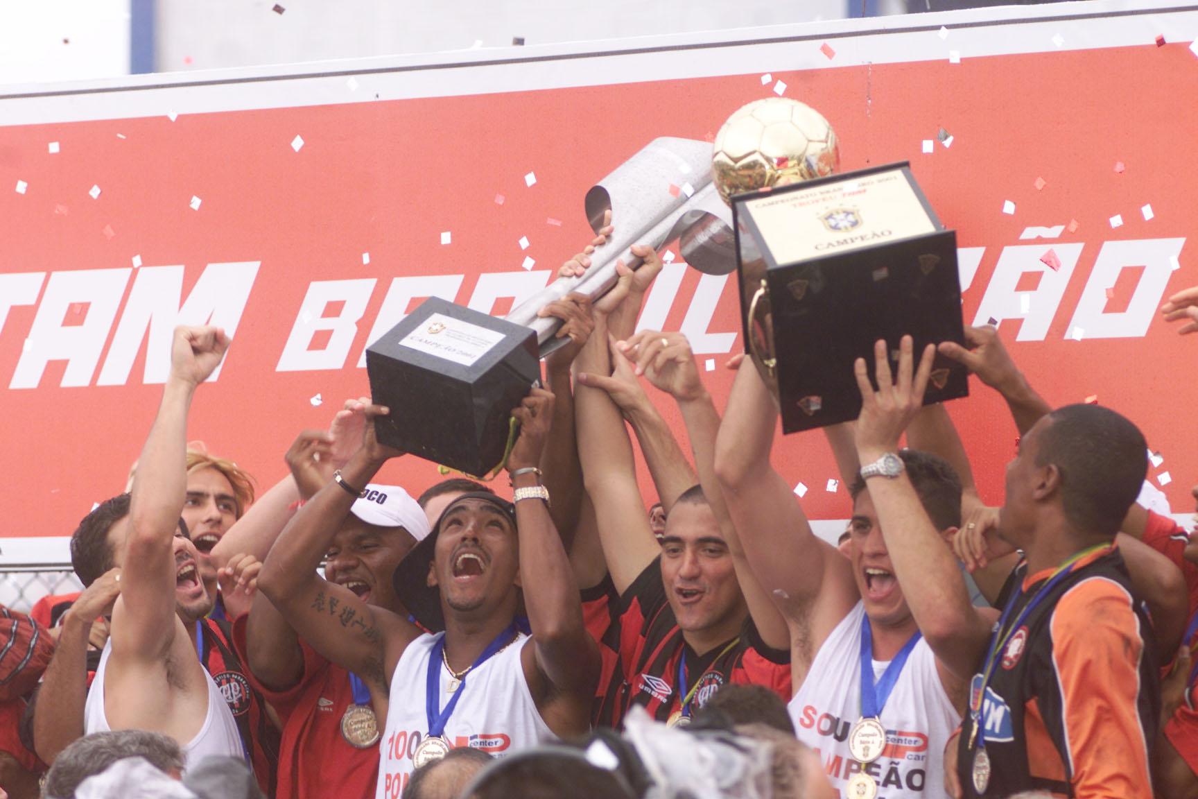 Atlético PR Campeão 2001