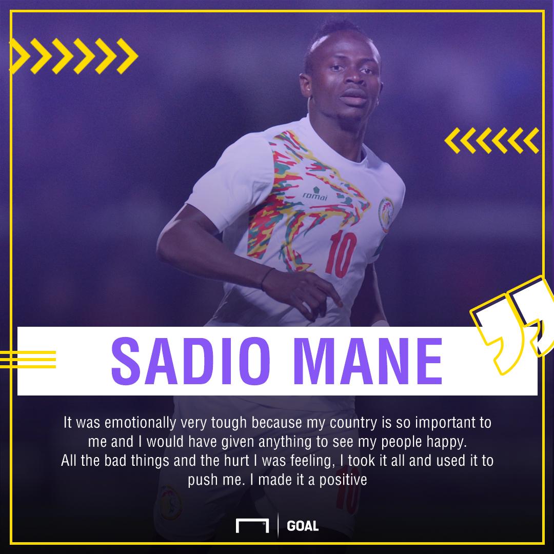 GFX Sadio Mane quote