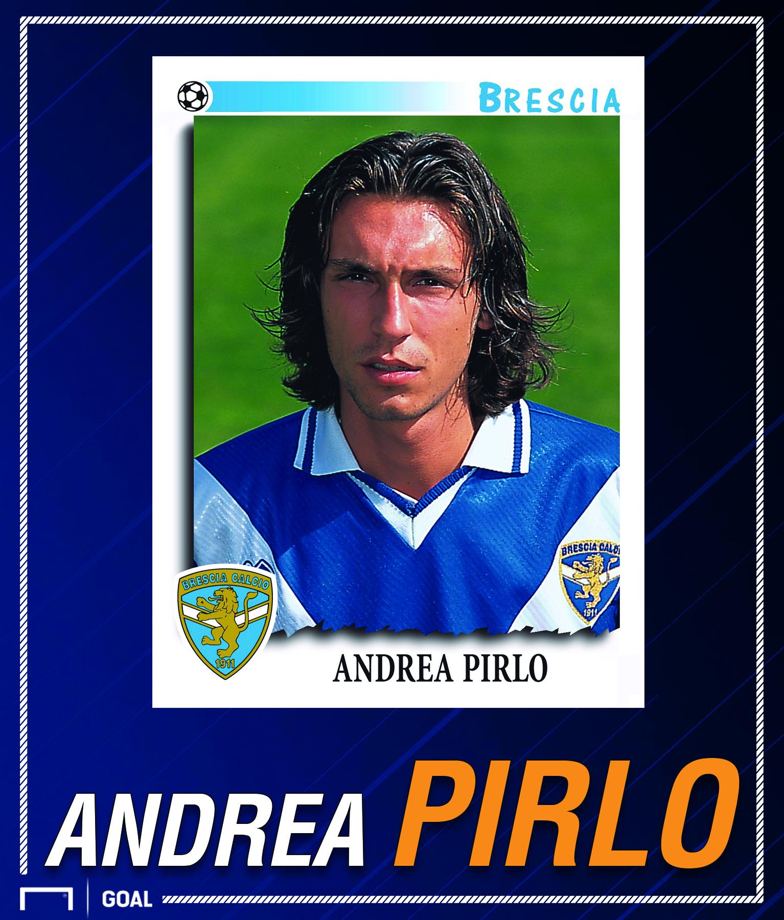 Andrea Pirlo Brescia card