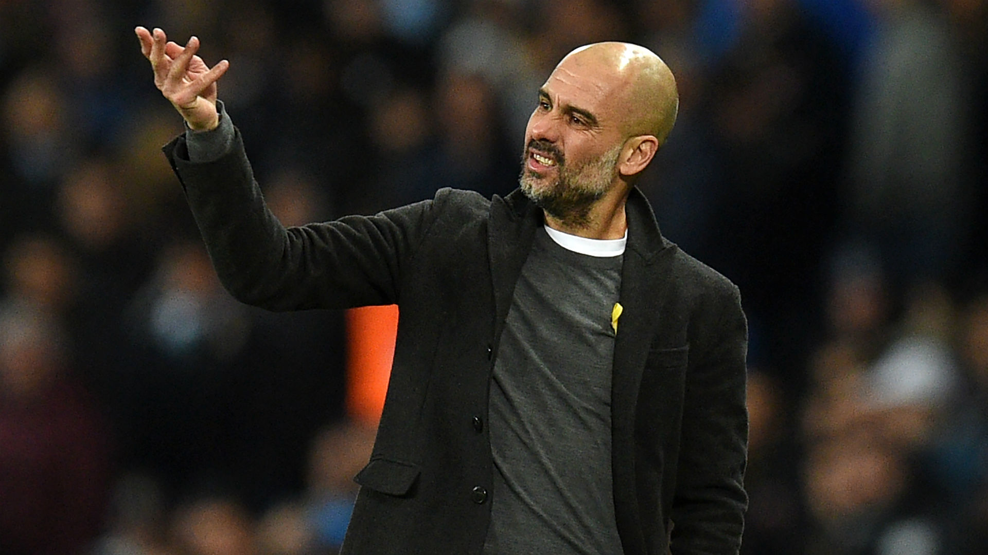 Pep Guardiola Manchester City Champions League