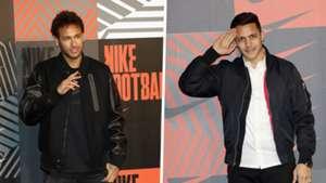 Neymar Alexis Sanchez Nike Mercurial launch party