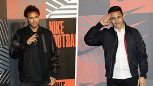 Neymar Alexis Sanchez Nike Mercurial launch party