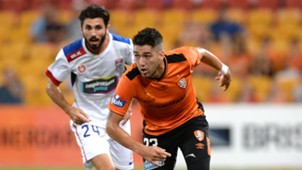 Dimitri Petratos Brisbane Roar v Newcastle Jets 12022016