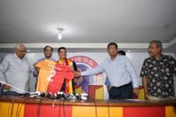 Johnny Acosta East Bengal unveil