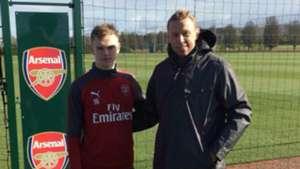 Karl Jakob Hein Arsenal