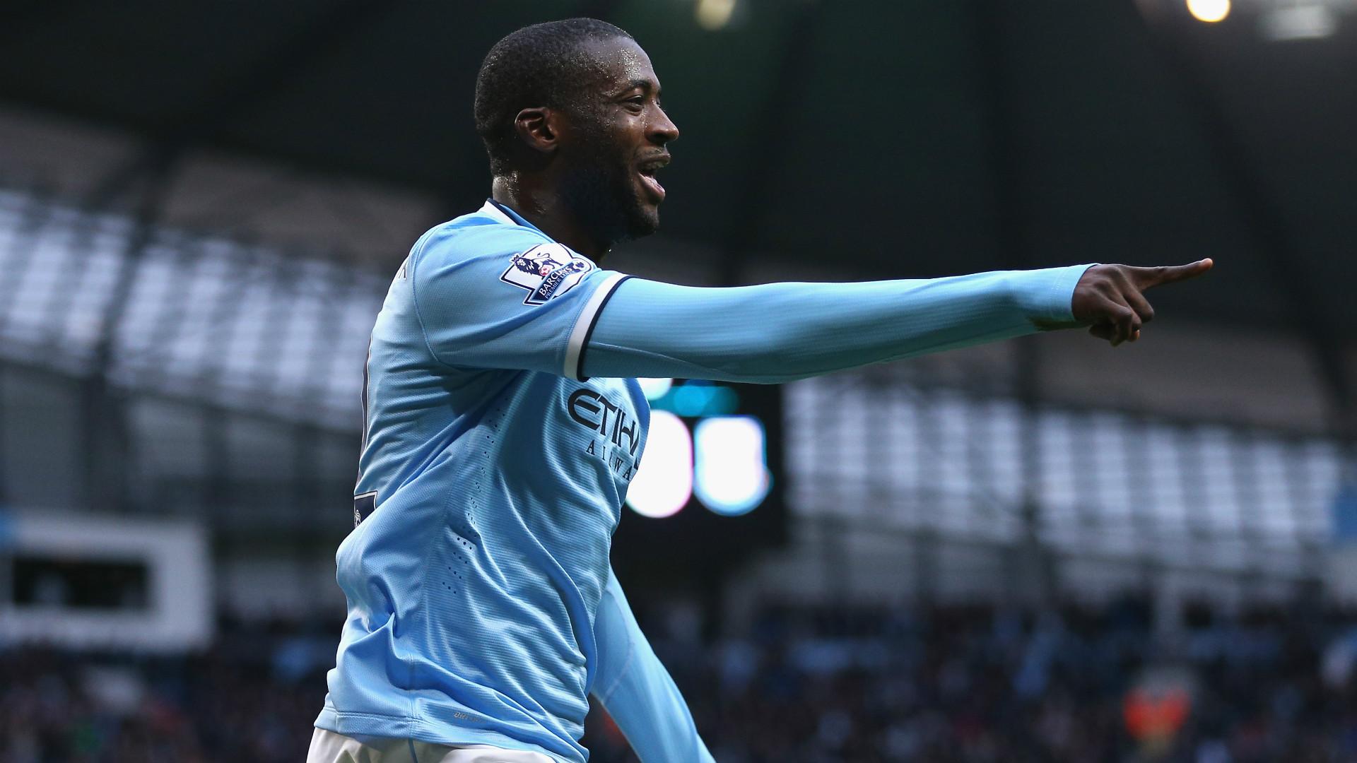 Yaya Toure Manchester City 2013-14