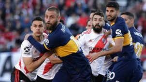 De Rossi Pratto River Plate Boca Juniors Superliga 01092019