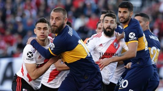 De Rossi Pratto River Plate Boca Juniors Superliga 01092019