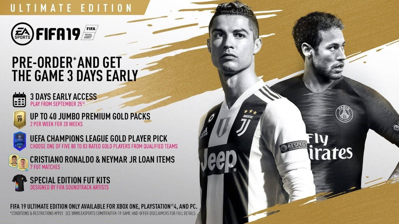 Embed only FIFA 19 Ultimate Edition