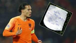Virgil Van Dijk tactics sheet