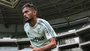 Gustavo Scarpa treino Palmeiras 24012018