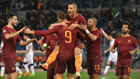 Edin Dzeko Roma Torino Serie A