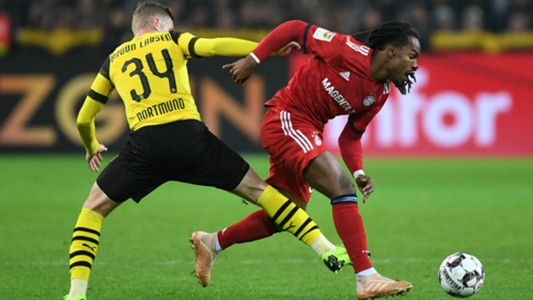 Jacob Bruun-Larsen Renato Sanches Dortmund Bayern 10112018