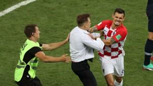 Invasão França Croácia Copa do Mundo 15 07 2018