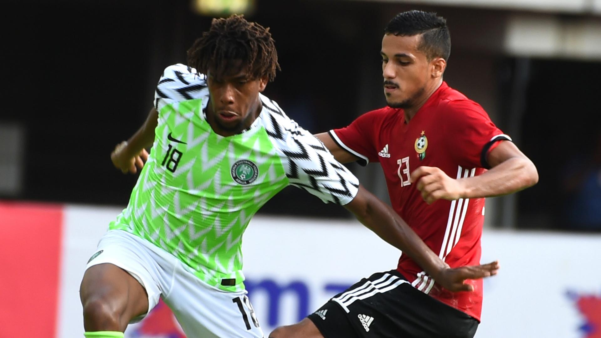 Alex Iwobi - Nigeria vs. Libya