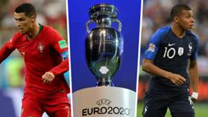 Cristiano Ronaldo Kylian Mbappe Euro 2020 draw