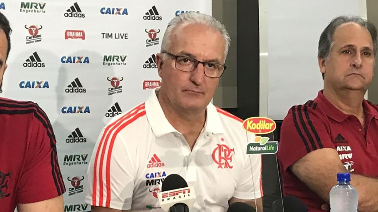 Dorival Junior Flamengo 2018 apresentacao 29092018
