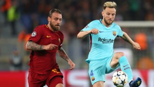 Rakitic De Rossi Roma Barcelona Champions League
