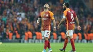 Wesley Sneijder Selcuk Inan Galatasaray