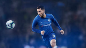 Hazard new Chelsea kit