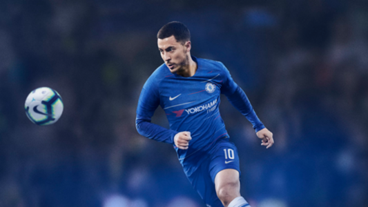 Hazard new Chelsea kit
