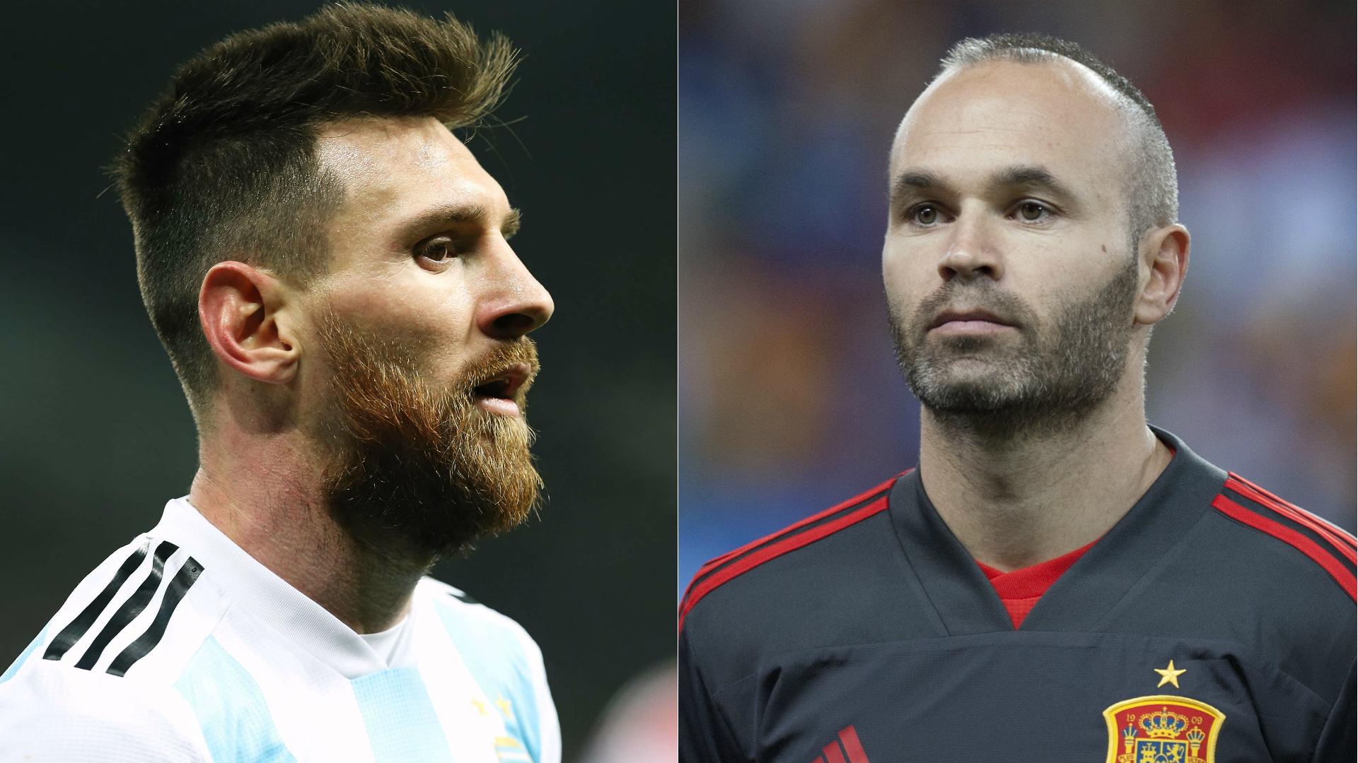 Messi - Iniesta