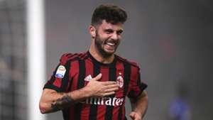 Patrick Cutrone, AC Milan, 17/18
