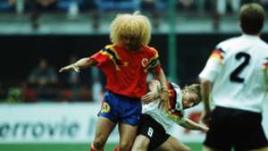 Valderrama Germany Colombia 1994 World Cup
